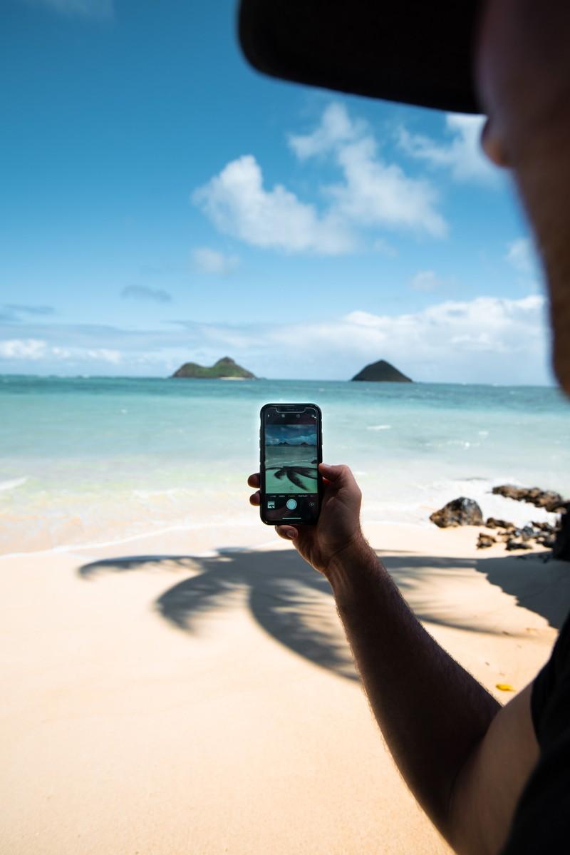 Urlaubsbilder, die von Influencern gerne gepostet werden