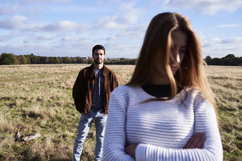 Sie macht immer wieder Schluss mit ihm, doch er will sie auch nicht mehr.