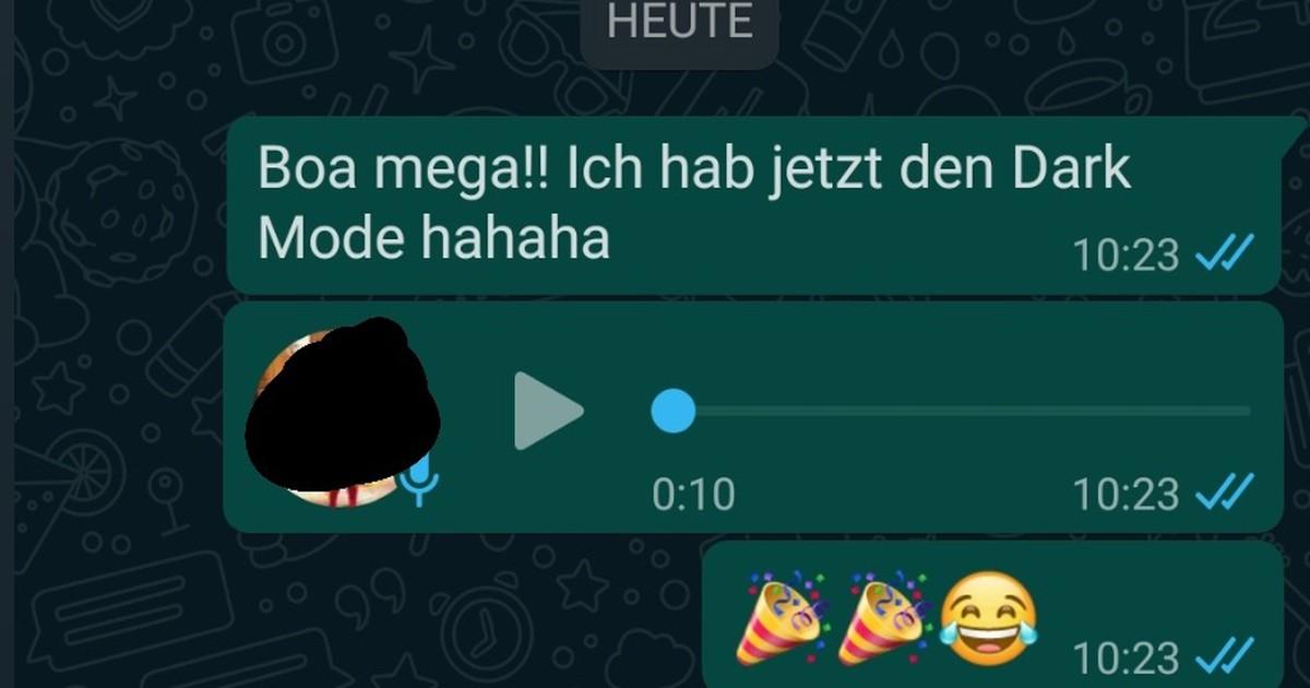 Dark Mode auf WhatsApp ist endlich da: So kriegst du das neue Design