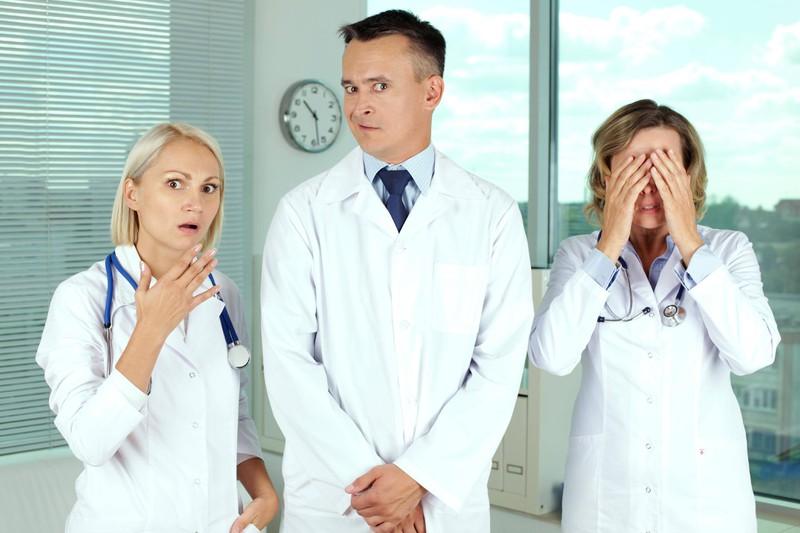 Einige Patienten verstehen nicht, wie der menschliche Körper funktioniert – das muss das Krankenhauspersonal ausbaden.