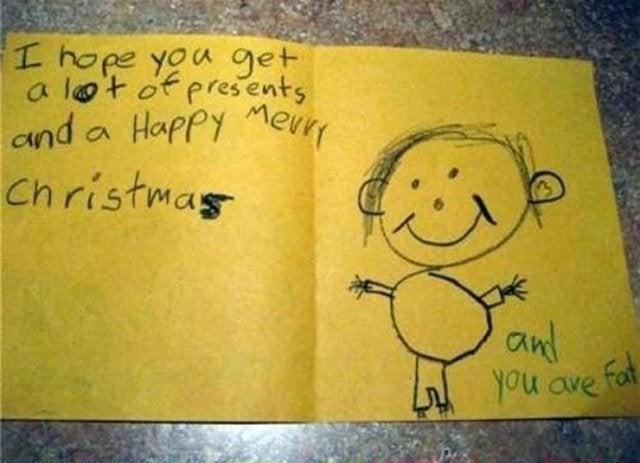 Kinder, die ehrlich sind, sollten eigentlich belohnt werden, doch tatsächlich sind sie manchmal nur beleidigend.