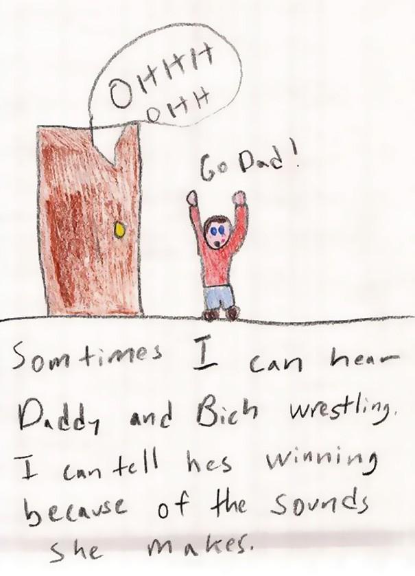 Kinderzeichnungen sind so wunderbar ehrlich, deswegen finden wir sie so lustig.