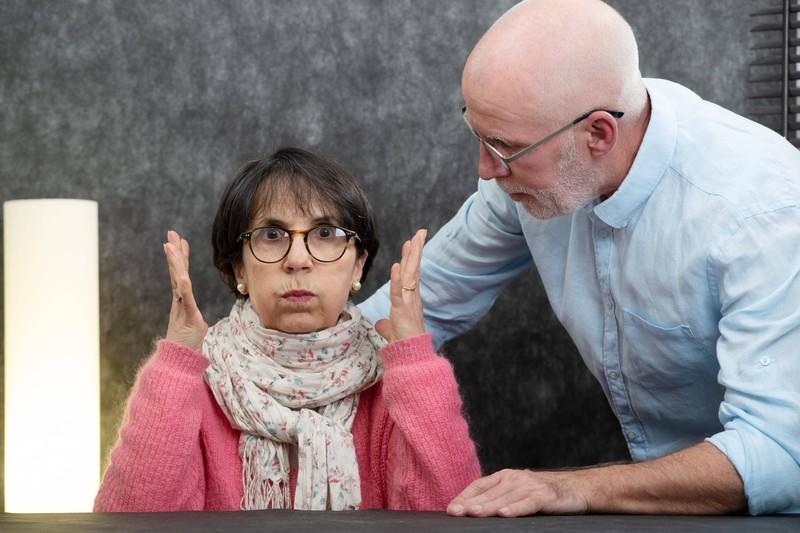 Scheidungsstreit von zwei älteren Eheleuten