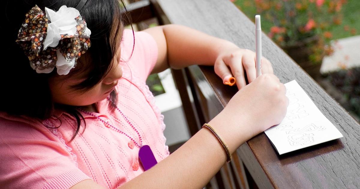 Hospiz erhält rührenden Brief einer Elfjährigen, das ihren Papa pflegt