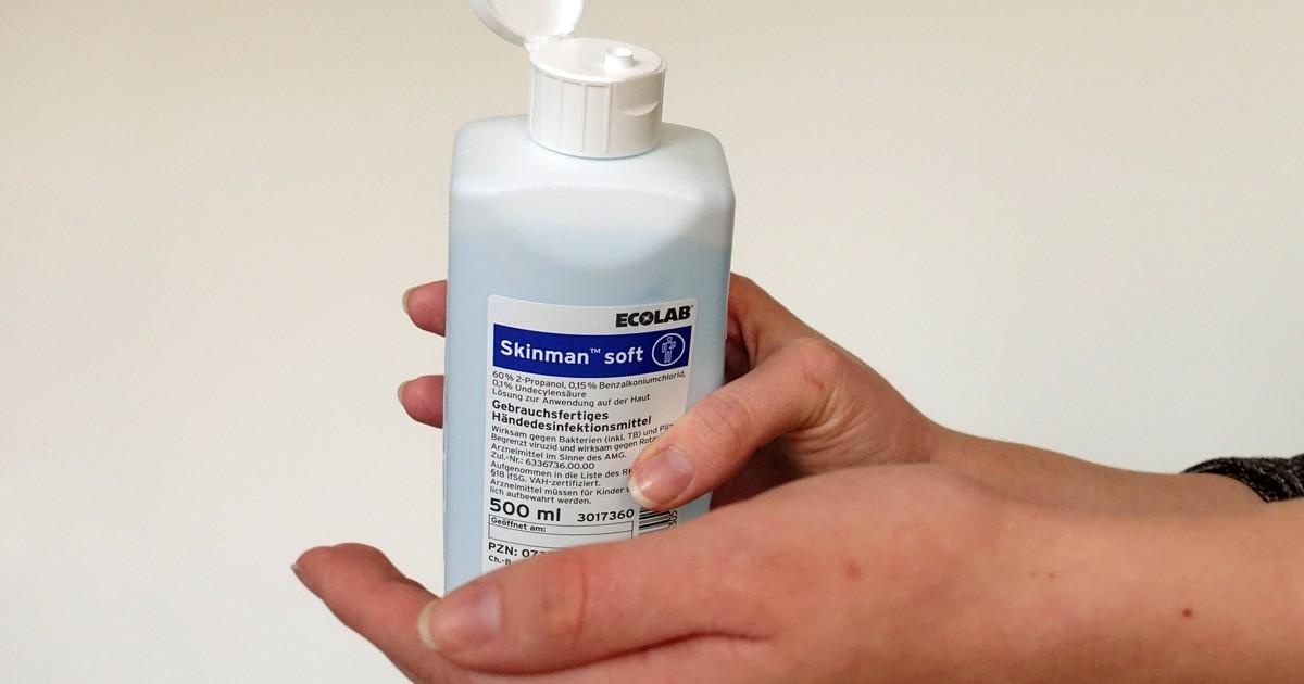 Desinfektionsmittel selber herstellen: So geht's