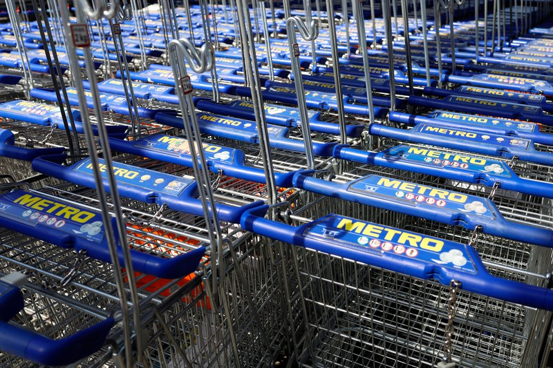 Die Sicherung beim Einkaufswagen hat einen Zweck