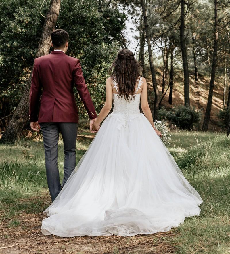 Unschön ist es, wenn man als Bräutigam die eigene Hose vergisst.