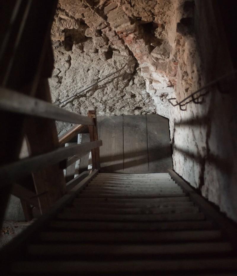In einem alten Keller lassen sich kuriose Dinge entdecken
