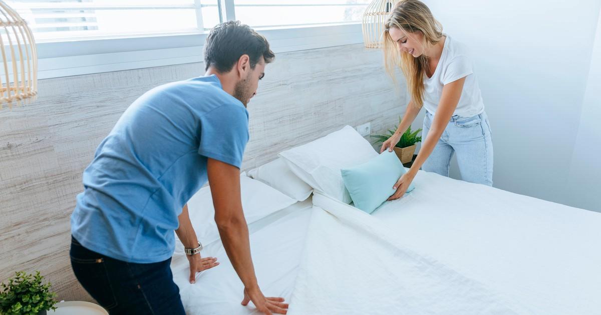 Wie oft solltest du die Bettwäsche waschen?
