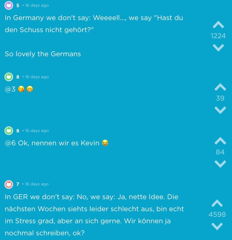 Die besten Sprüche, die nur Deutsche sagen