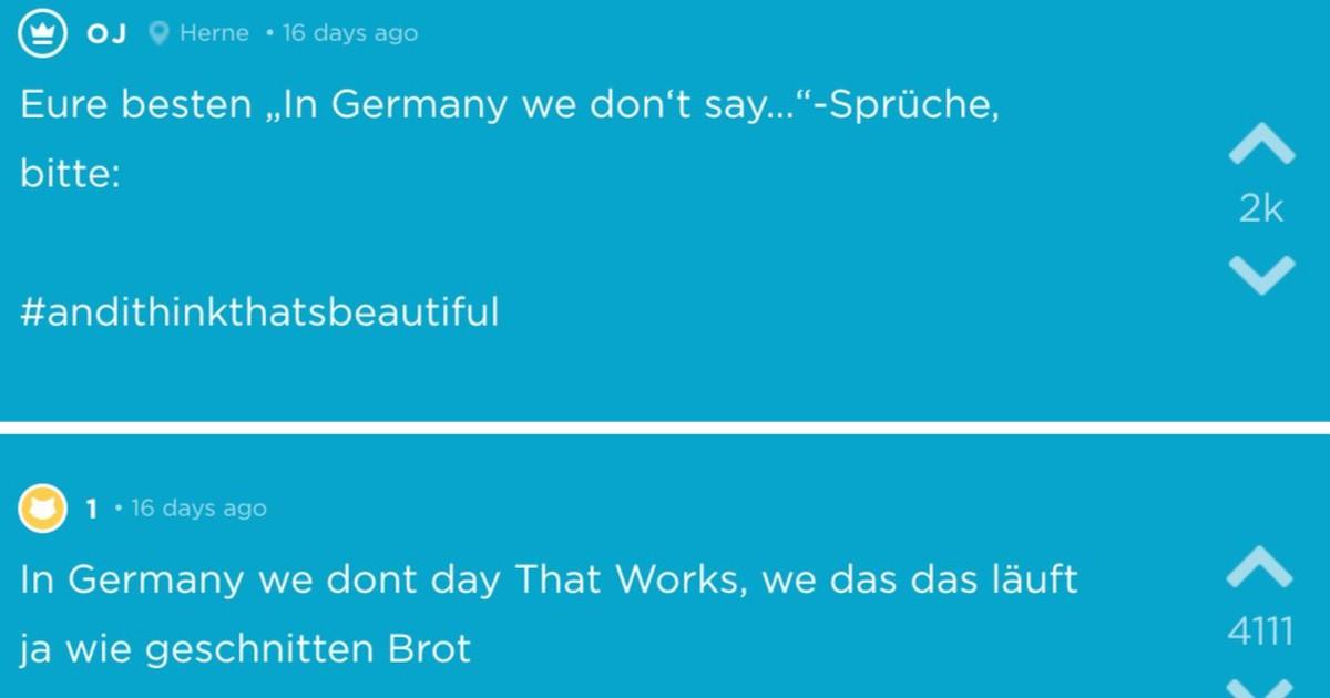 Jodel sammelt die lustigsten Sprüche über Deutschland