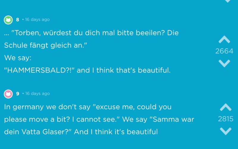 Weitere Sprüche, die typisch Deutsch sind