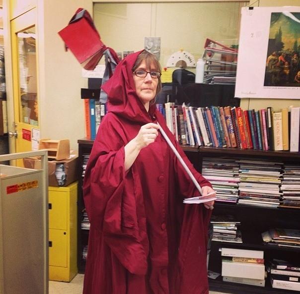 Eine Bibliothekarin liebt ihren Job