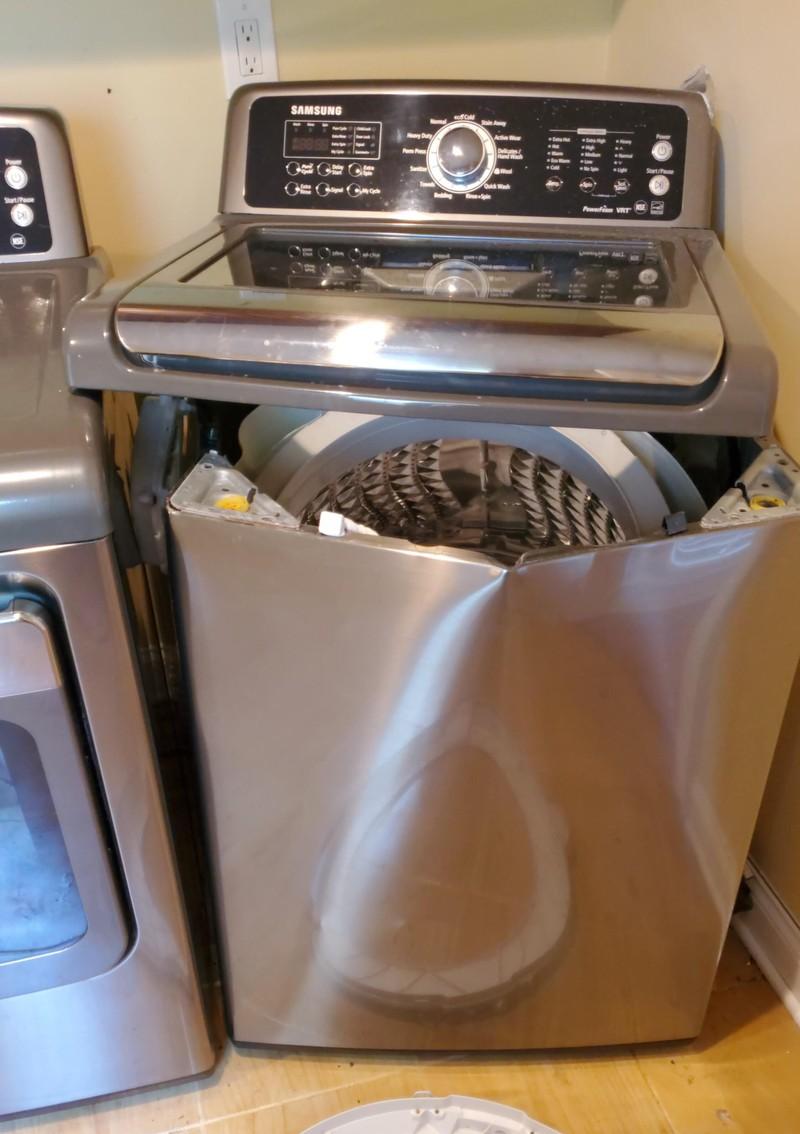 Wie kann einem so ein Waschmaschinen-Fail widerfahren?