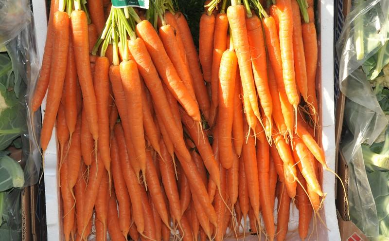 Auch Karotten haben unterschiedliche Namen.