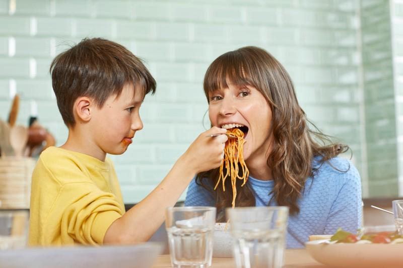 Pasta fördert die Tiefschlafphase.