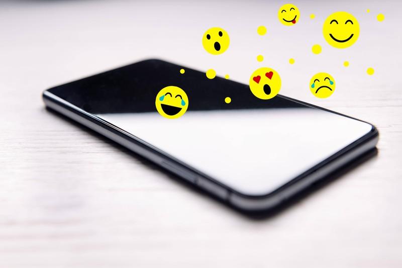 Viele verschicken Nachrichten mit Emojis und setzten diese falsch.
