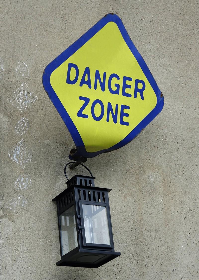 Bestimmte Dinge sind lebensgefährlich.