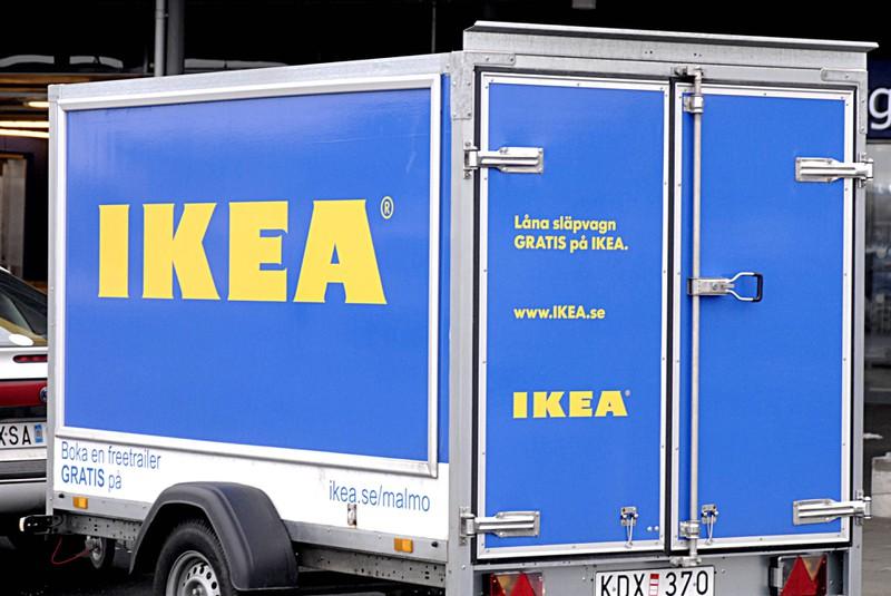 Manchmal ist es günstiger, sich einen Anhänger bei IKEA zu mieten