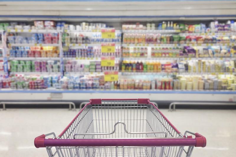Geschäfte locken mit langen Wegen zum Einkauf