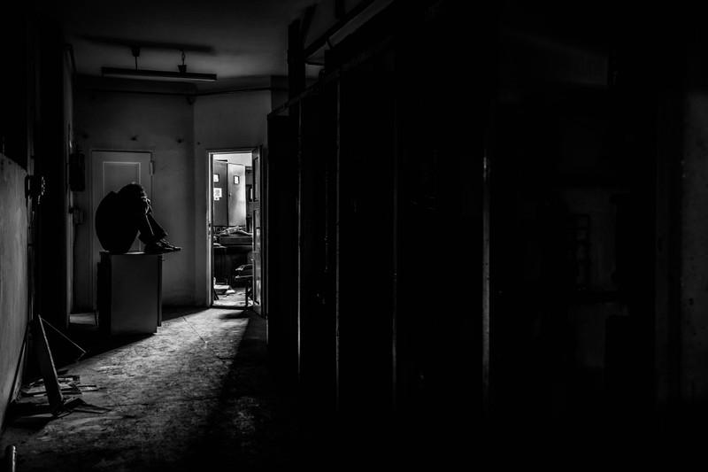 Ein fremder Mann ist plötzlich in der Wohnung, das ist ein wahrer Albtraum