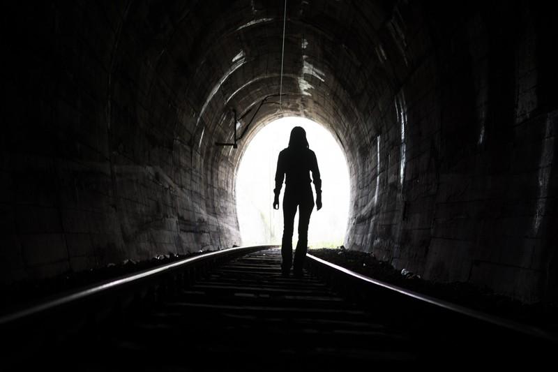 Er erzählte von einem langen Tunnel, den er sah.