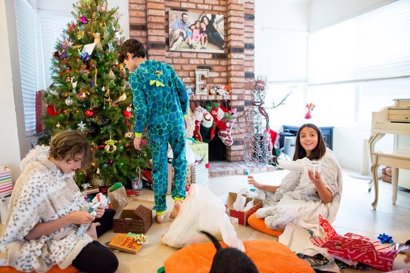 An Weihnachten bekommen manche auch mal schlimme Geschenke