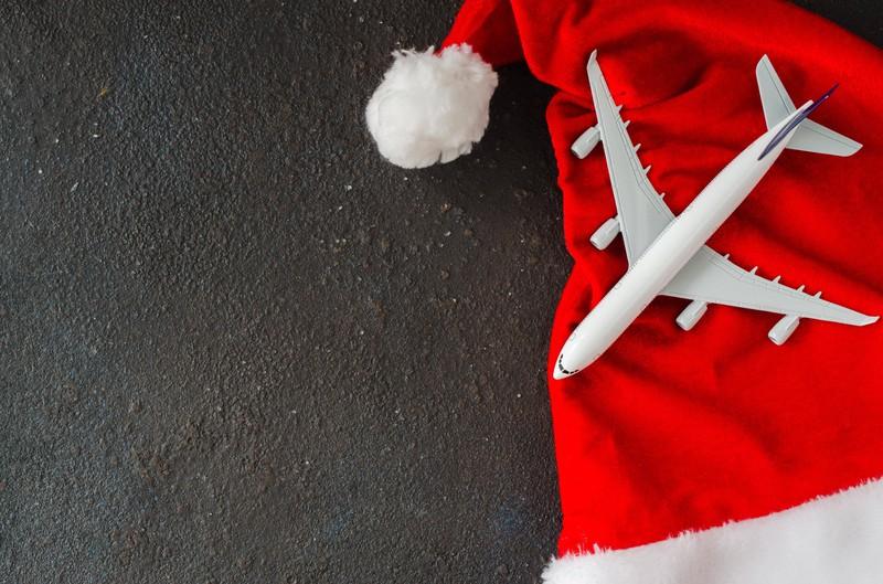 Sein Weihnachtsgeschenk war ein sehr langer Flug
