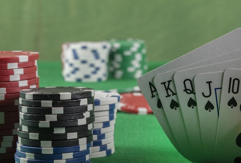 Das Paar beschwerte sich im Casino.