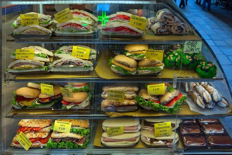 Die Kundin im Sandwichladen war uneinsichtig.