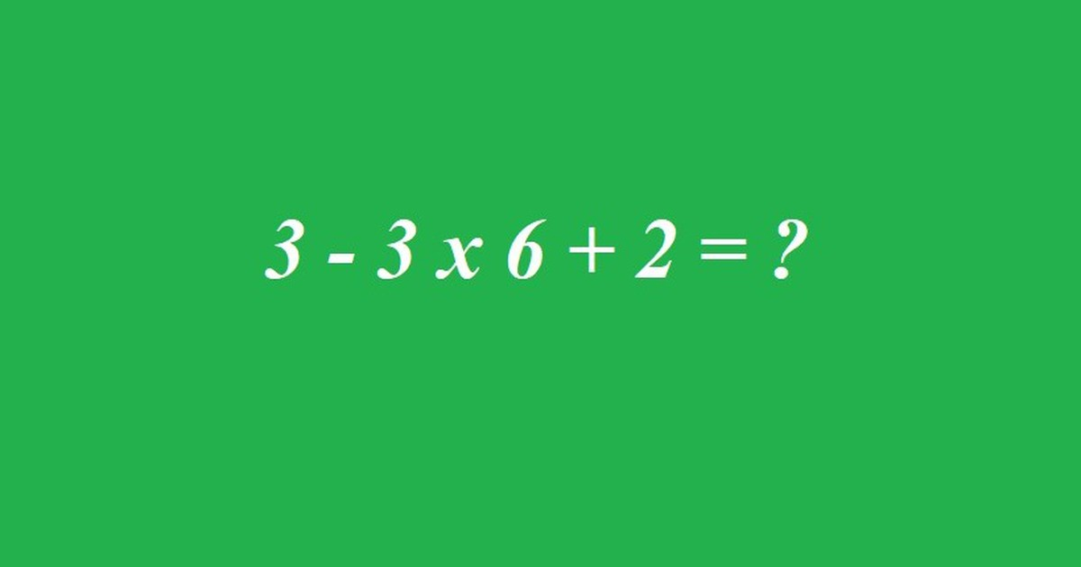 Matherätsel: Wer kann diese Gleichung lösen?