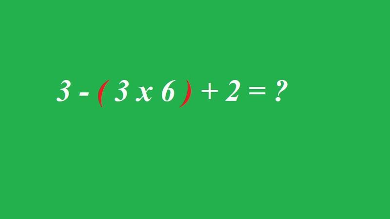 Kannst du die Gleichung lösen?