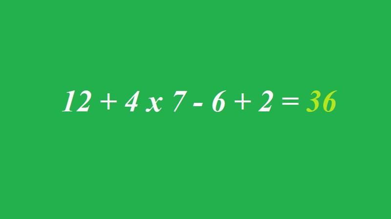 Wer hat das Matherätsel lösen können?