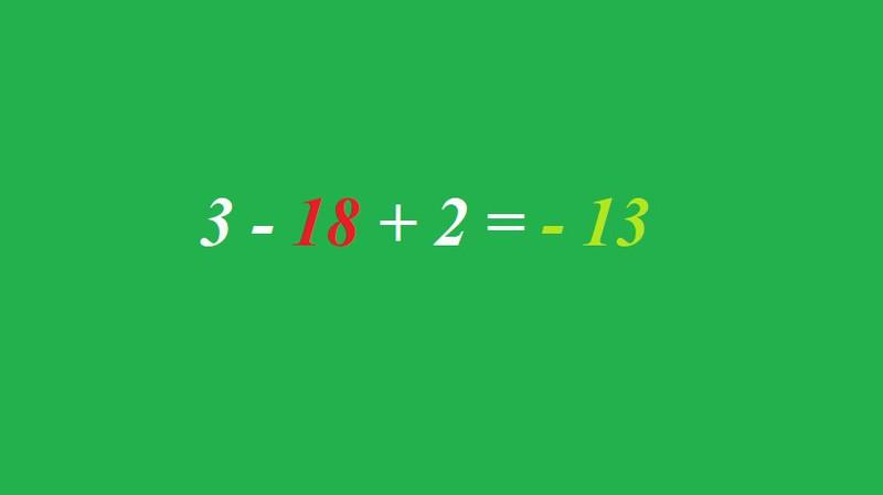 Wie lautet die Gleichung des Matherätsels?