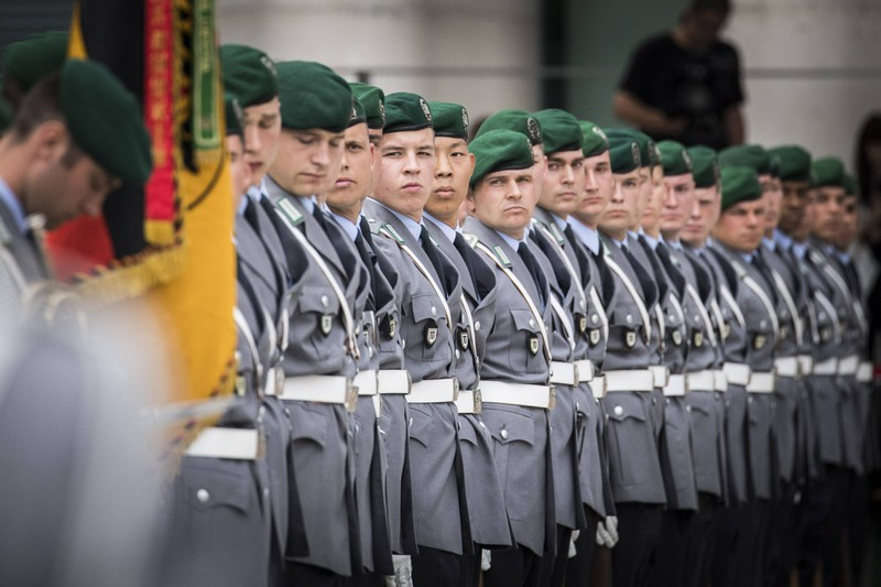 Ein Soldat wird psychisch und physisch gefordert.