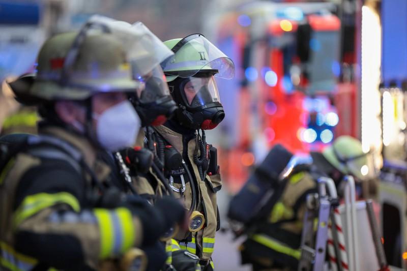 Feuerwehrmänner sind einem hohen Stresslevel ausgesetzt.