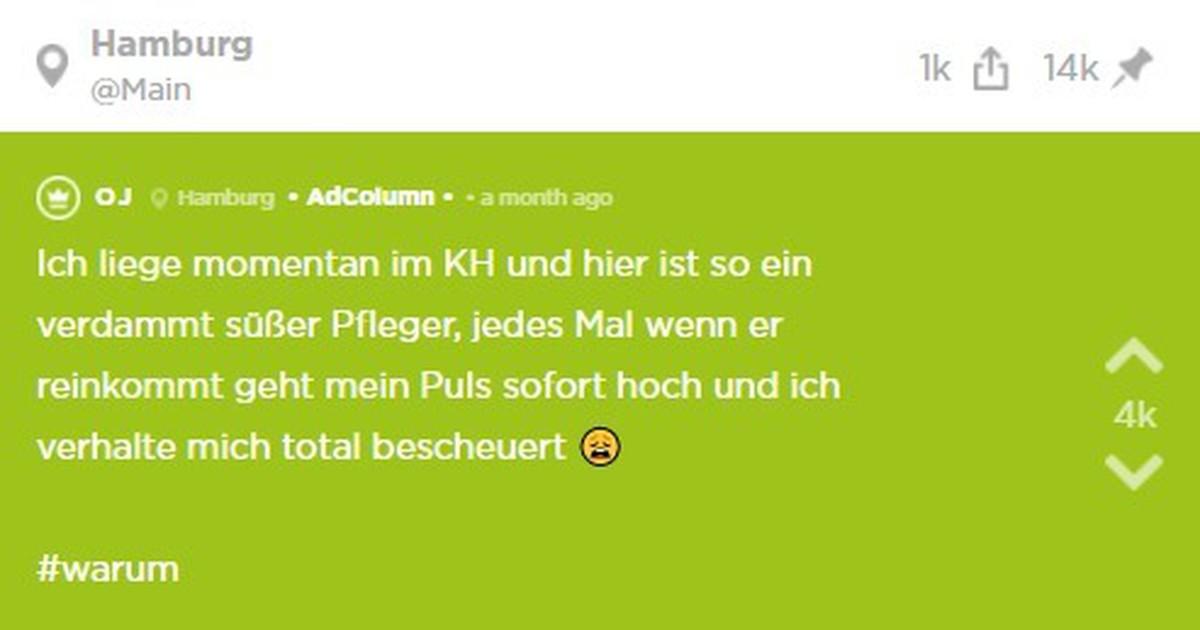 Liebes-Jodel: OJ liegt im Krankenhaus und verliebt sich in den Pfleger
