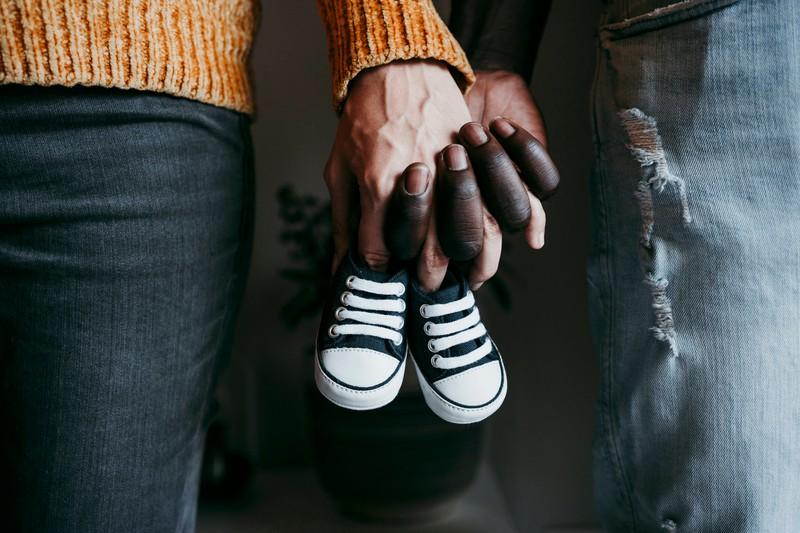Das Paar ließ sich schnell scheiden, nachdem das Baby wohl nicht von ihm war.