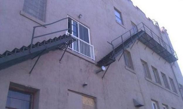 Die Treppe ist definitiv ein Fail geworden