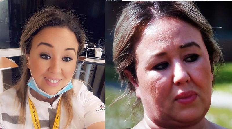 Die Frau sieht auf Instagram anders aus als im Fernsehen