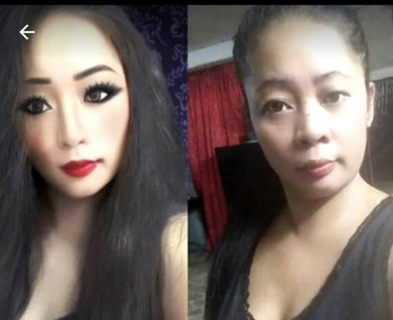 Die Instagramerin hat ihre Gesichtsform verändert