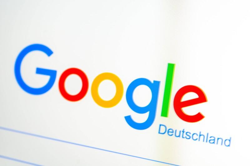 Das Markenzeichen und Logo von Google, das sicherlich auch ein verstecktes Detail beinhaltet